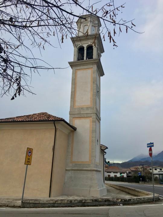 Edifici religiosi Chiesa di Formegan a Santa Giustina 2