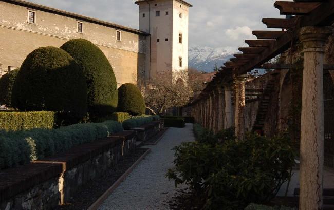 torre all'estremità meridionale del castello del Buonconsiglio