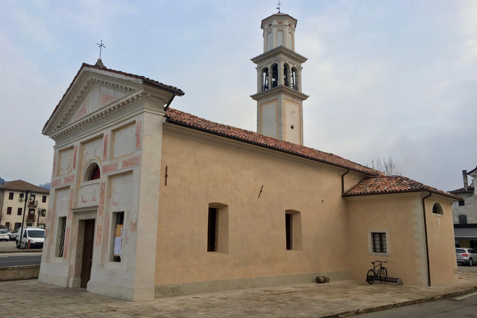 Edifici religiosi Chiesa di Formegan a Santa Giustina 5
