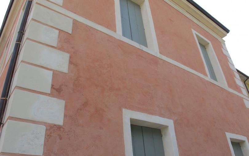 Malta di finitura di calce pura, pozzolane naturali e cocciopesto