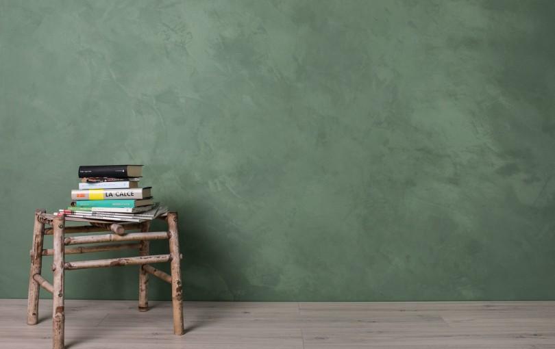 Edelputz zum Einfärben mit kalkechten, mineralischen Pigmenten, für glatte Oberflächen mit eleganten, matten bis seidenmatten Effekten